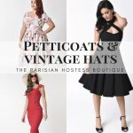 Vintage Brands from around the world available online and in the Boutique. Unique Vintage, The Pretty Dress Company, Hell Bunny, What Katie Did, Bernie Dexter